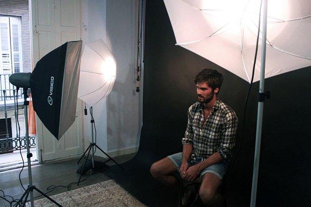 aménager un studio photo chez soi.