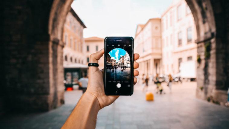 photos avec un smartphone.